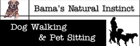 Bama's Natural Instinct Dog Walking & Petsitting